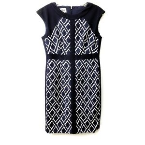 DONNA MORGAN Collection Dress Basketweave Lattice